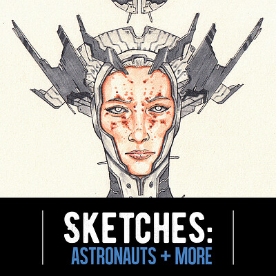 Josh matamoros sketches astronauts title