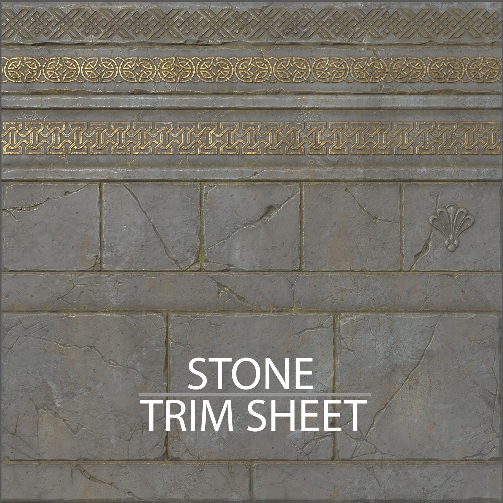 Stone Trim Sheet