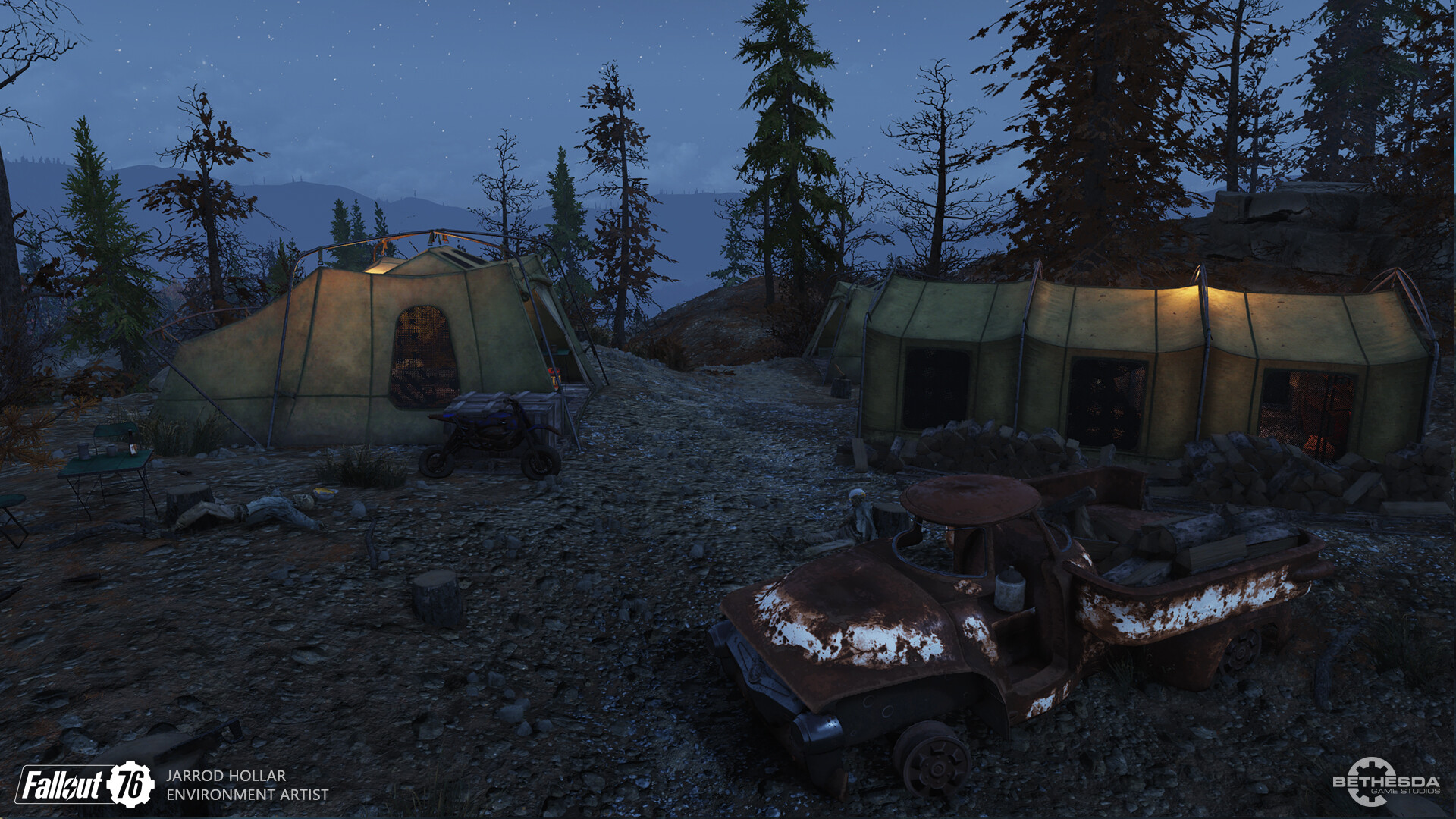 ArtStation - Fallout 76, Jarrod Hollar