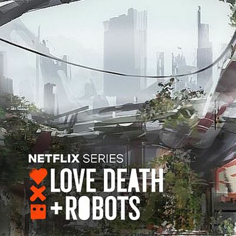 Love Death + Robots  - diner after apocalypse