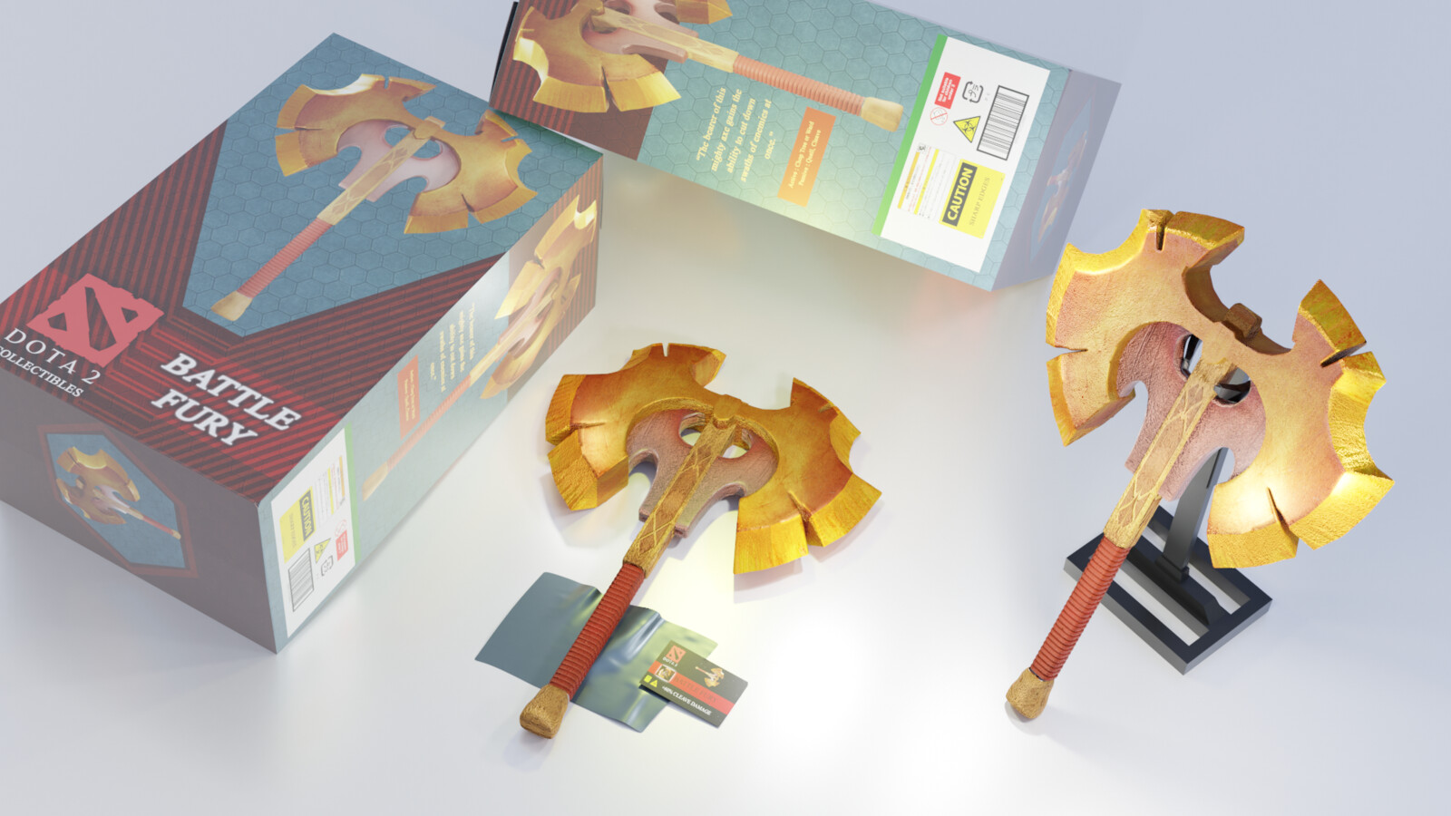 ArtStation - Battlefury (Dota 2 Figure), aseuraf x