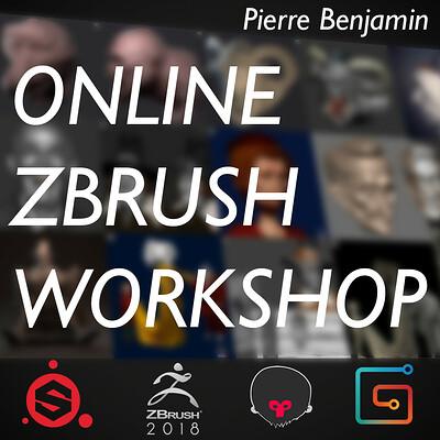 Online ZBrush Workshop JUNE - JULY 2019