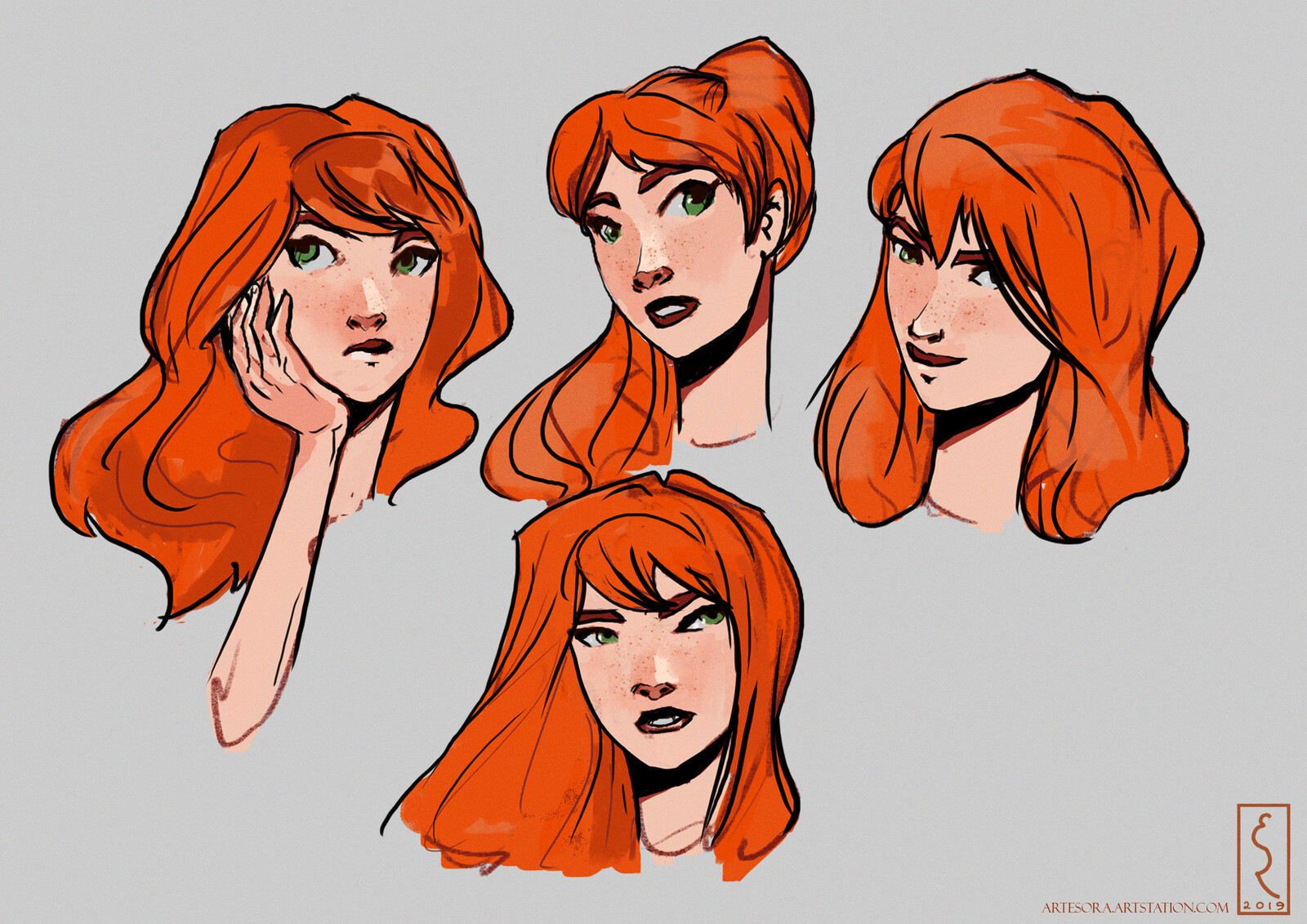 Project Spidey: Character Expressions + Poses