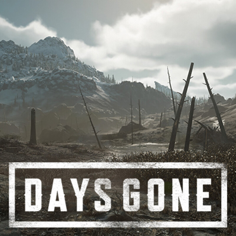 Days Gone - Crater Lake Region
