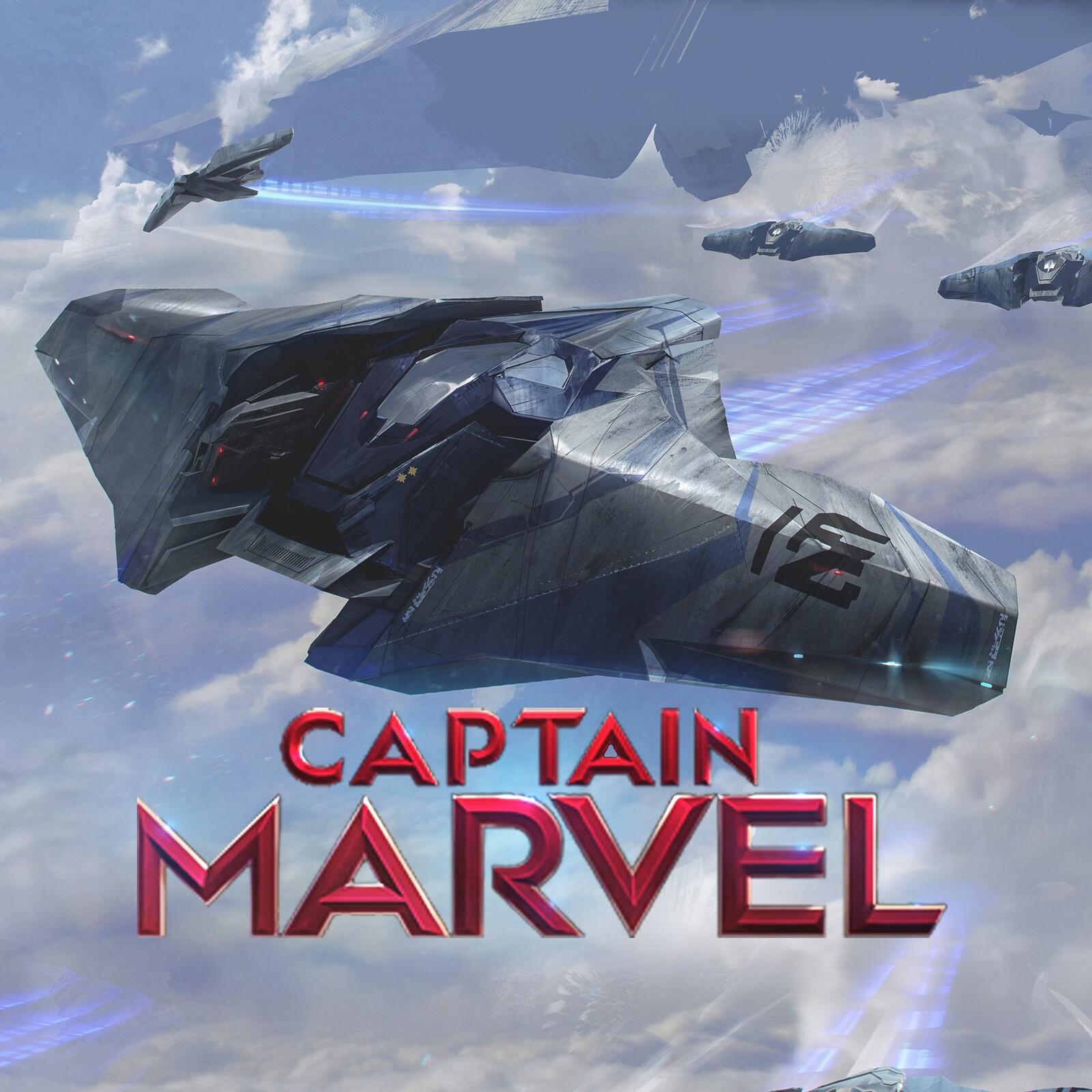 Captain Marvel KreeFighter
