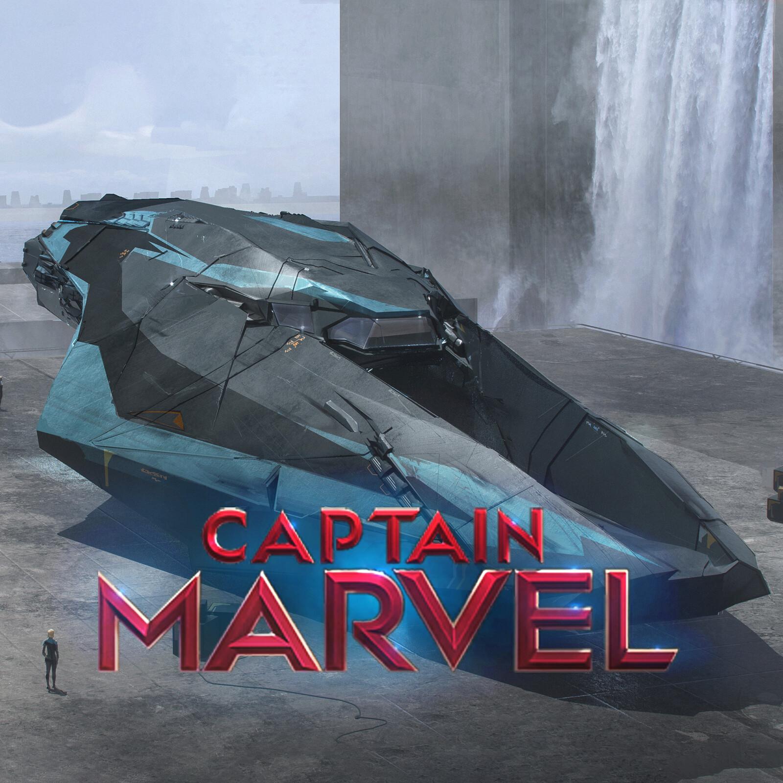Captain Marvel, Helion Ship