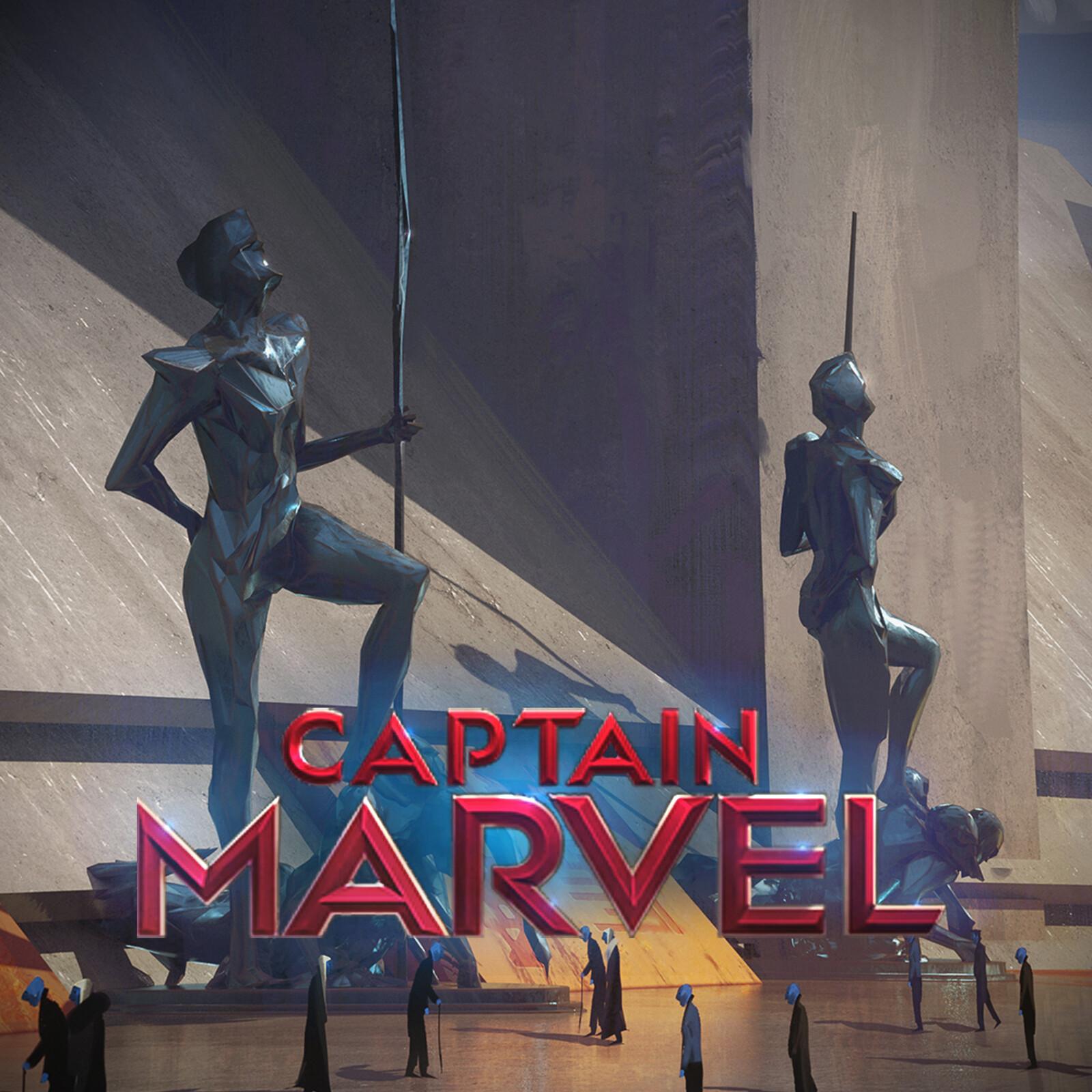 Captain Marvel Hala City Monuments