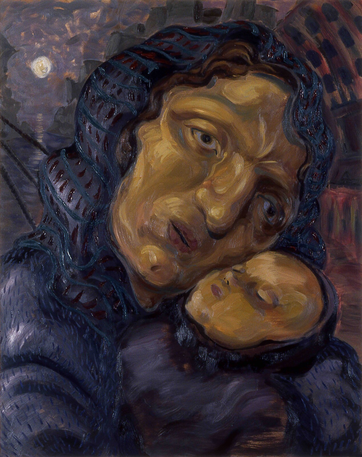 large Paintings from 1990 to 1992