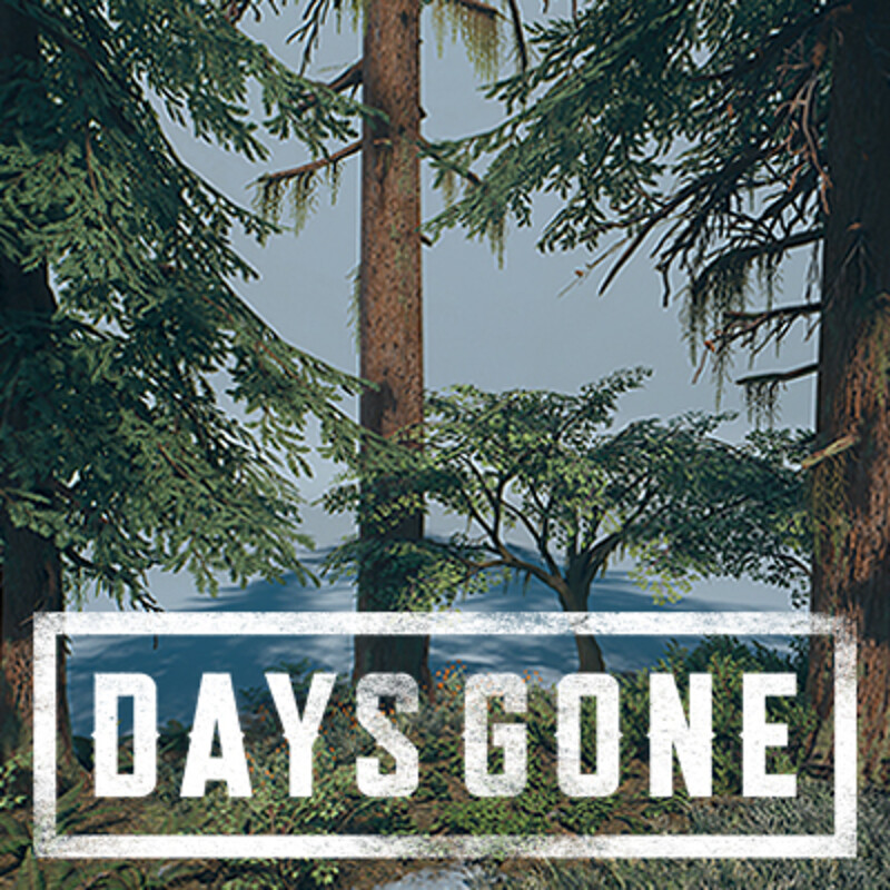 Days Gone - Foliage Vignettes