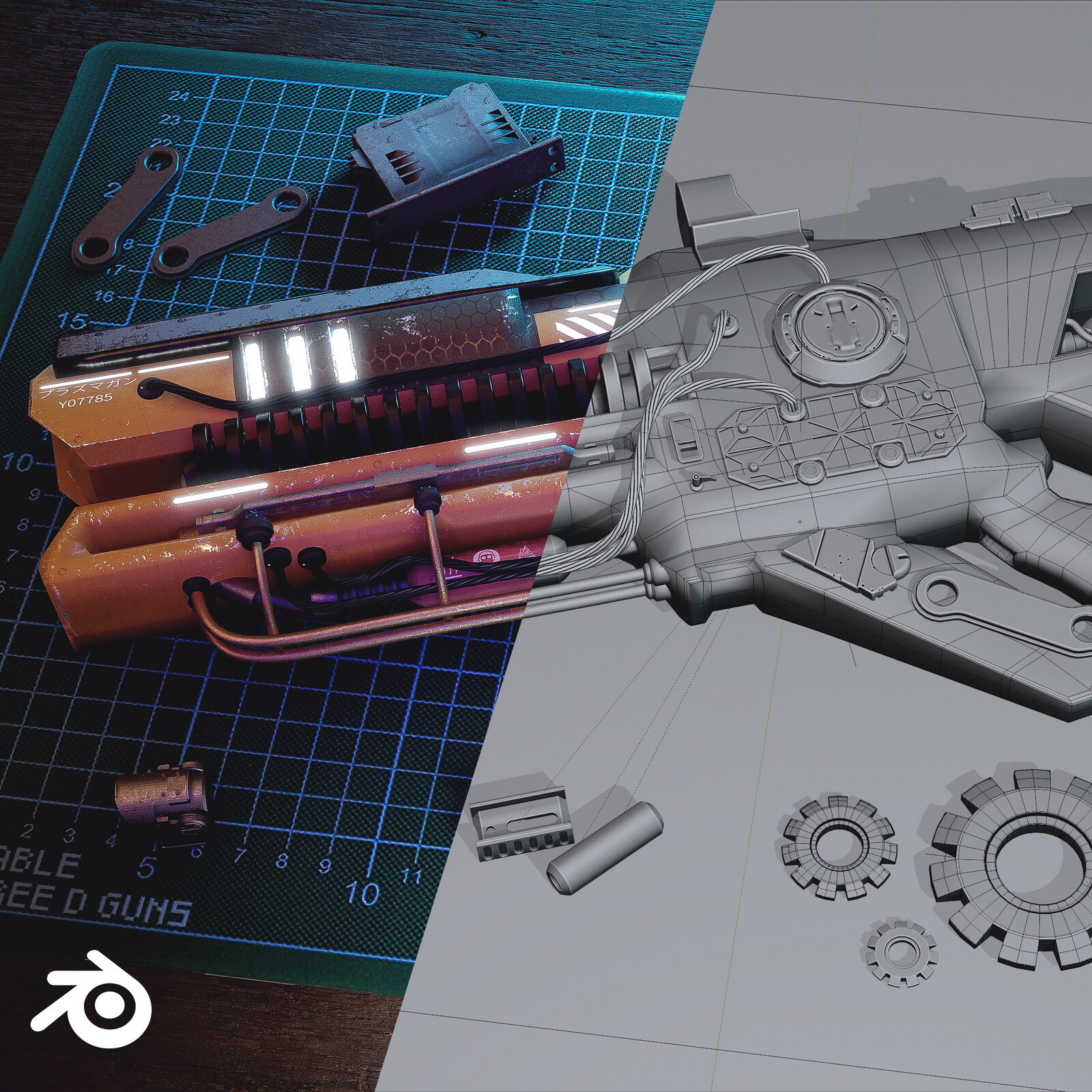 Work Bench - Customized weapon