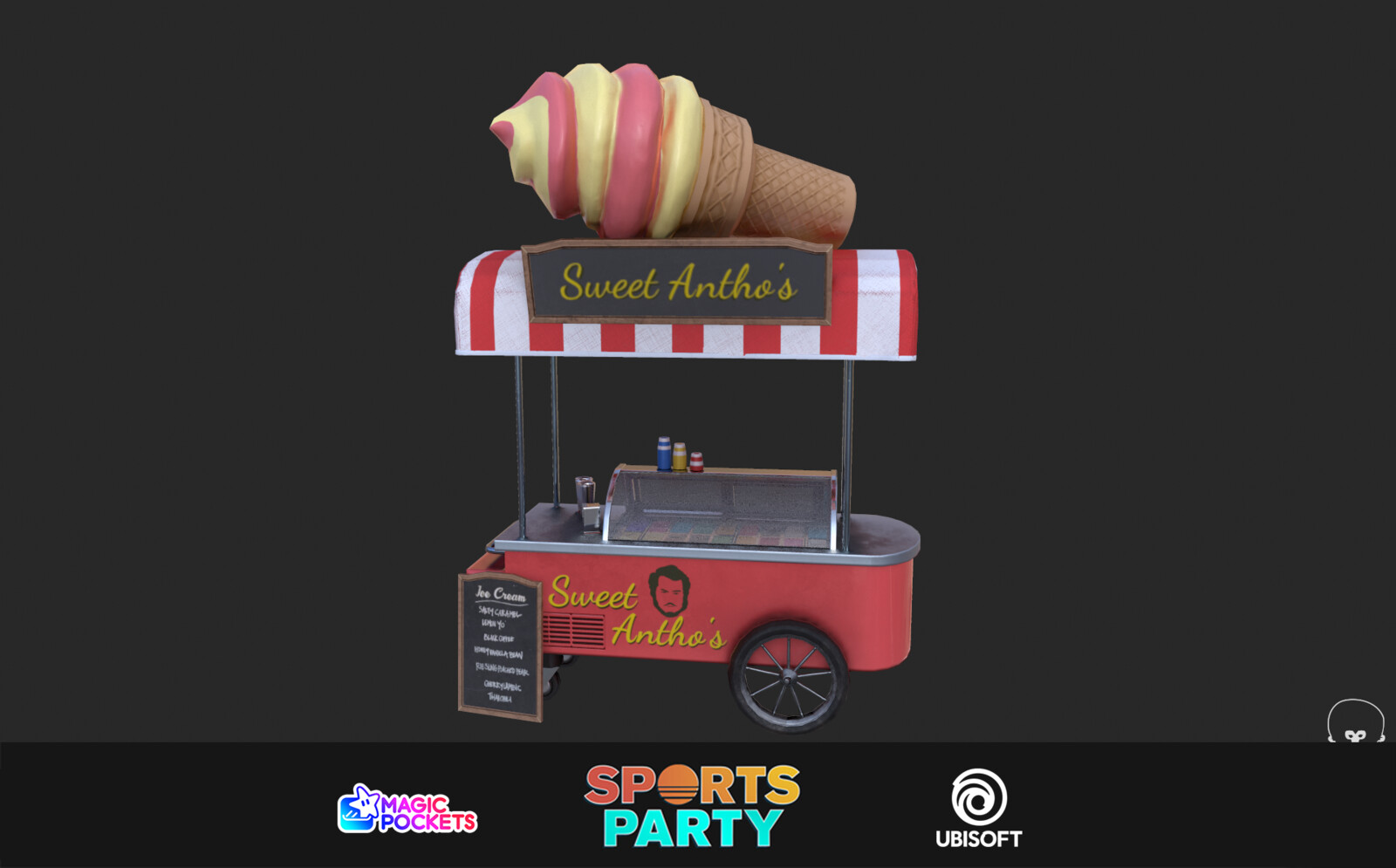 Sports Party - Props & Materials