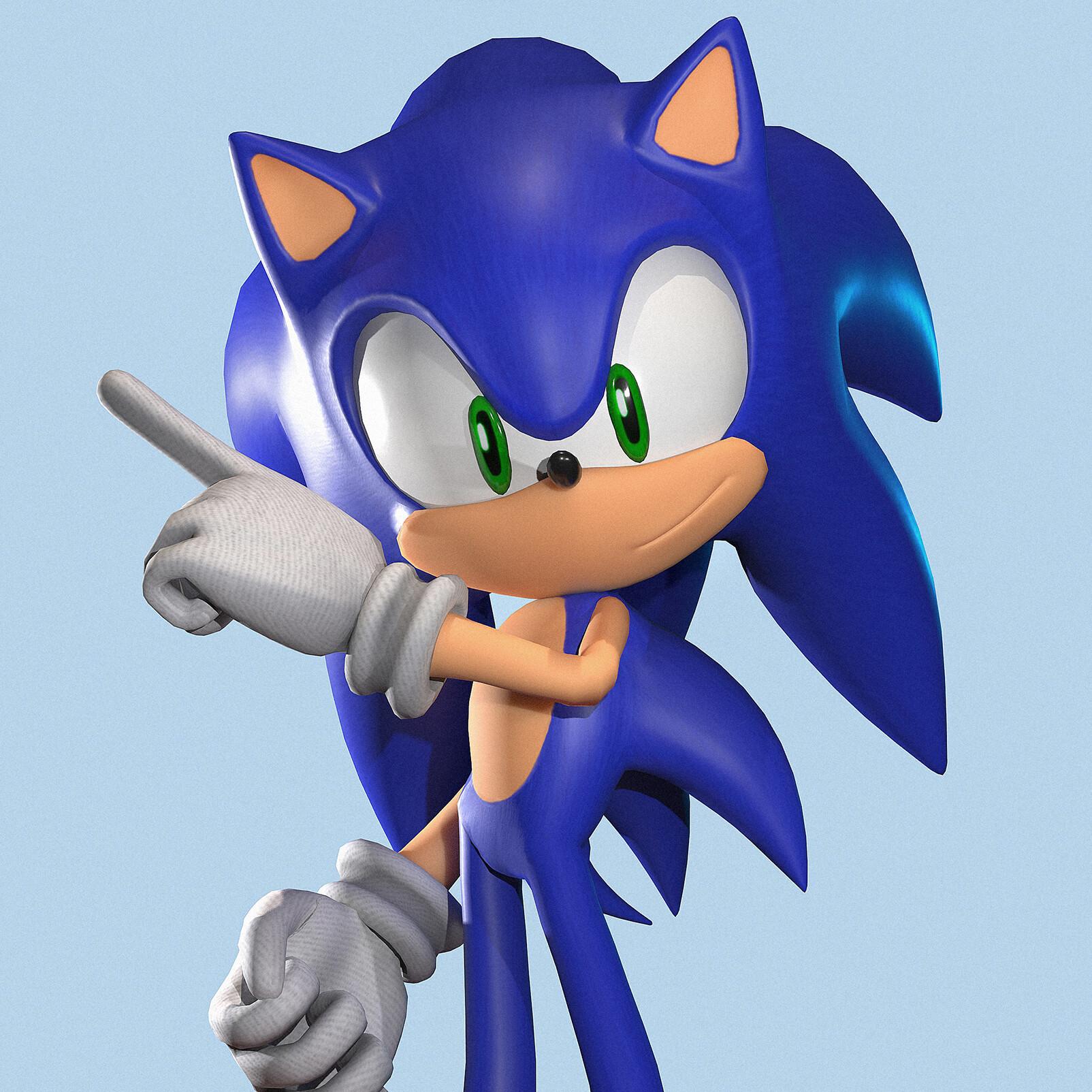 Artstation Sonic The Hedgehog Tifa C Moles
