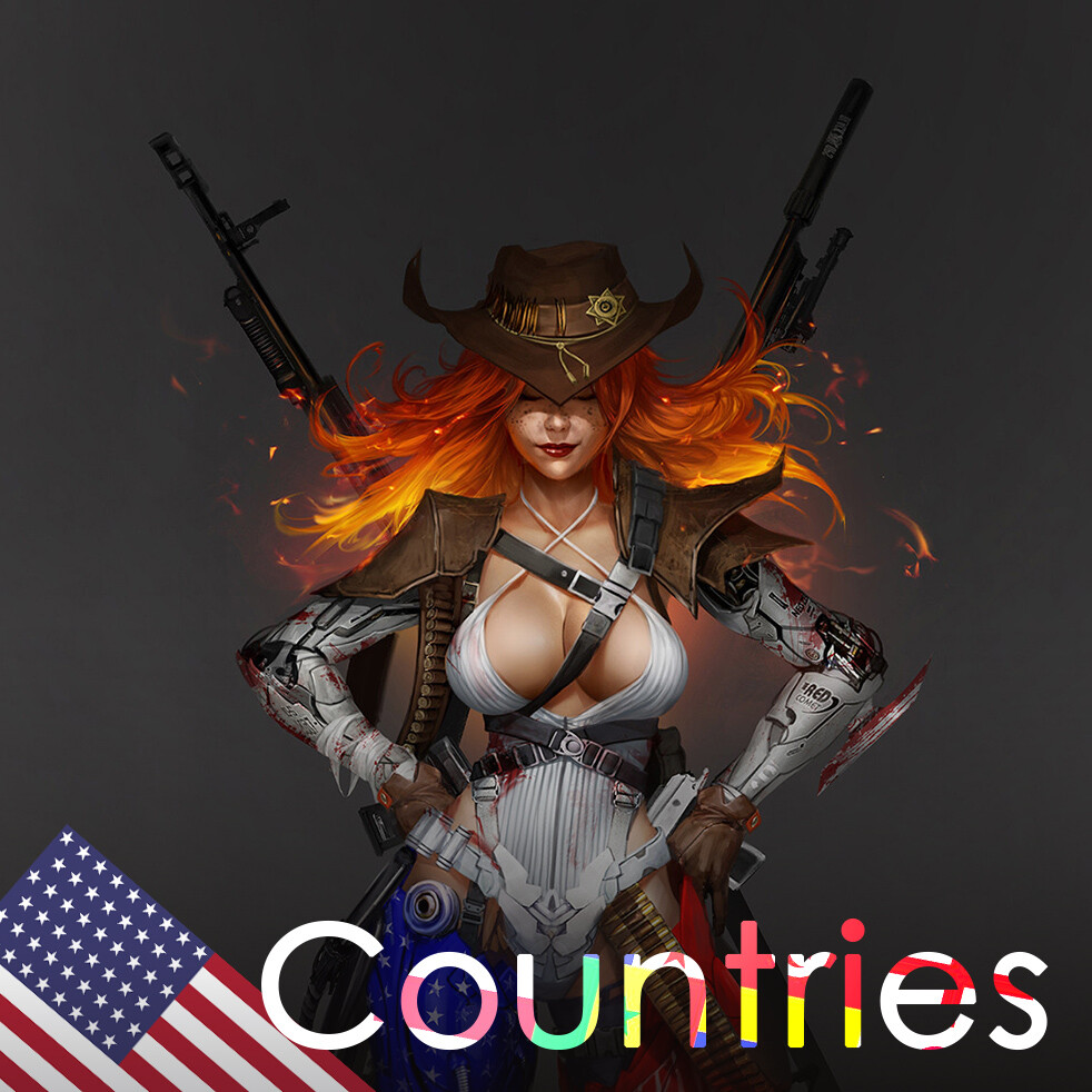 Countries: The USA