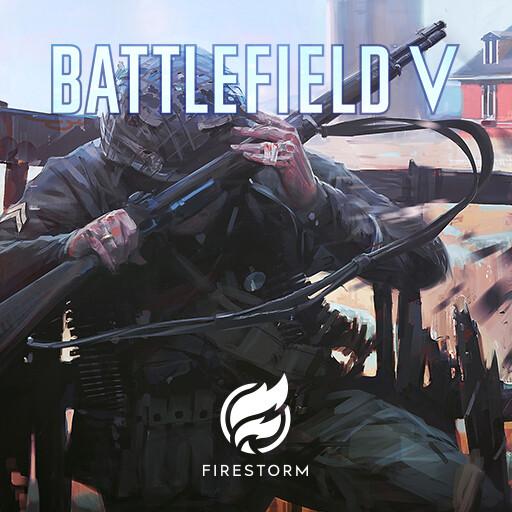 ArtStation - BFV: Firestorm Sniper Keyart, Felix Bauer-Schlichtegroll