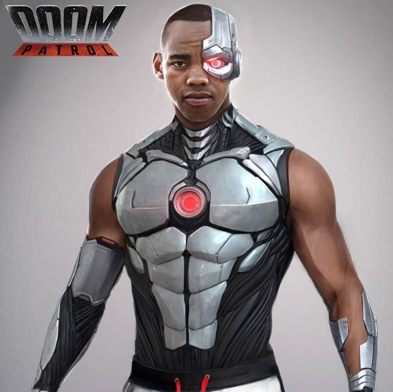 Artstation Dcu Doom Patrol Cyborg Luca Nemolato