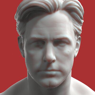 Ben Affleck - 3D Printed