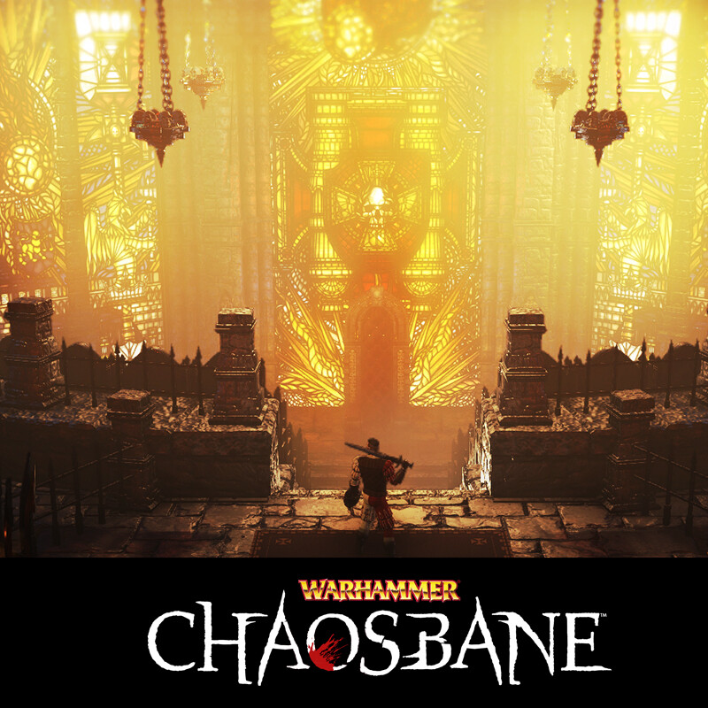 Warhammer Chaosbane / Tower of Nuln and Magnus Throne Room