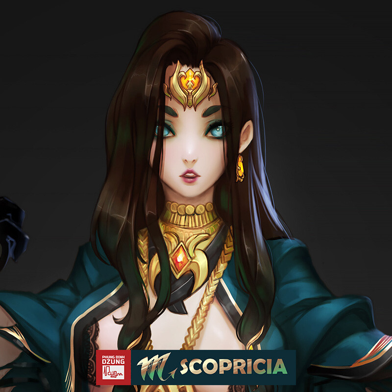 Scopricia Color Concept