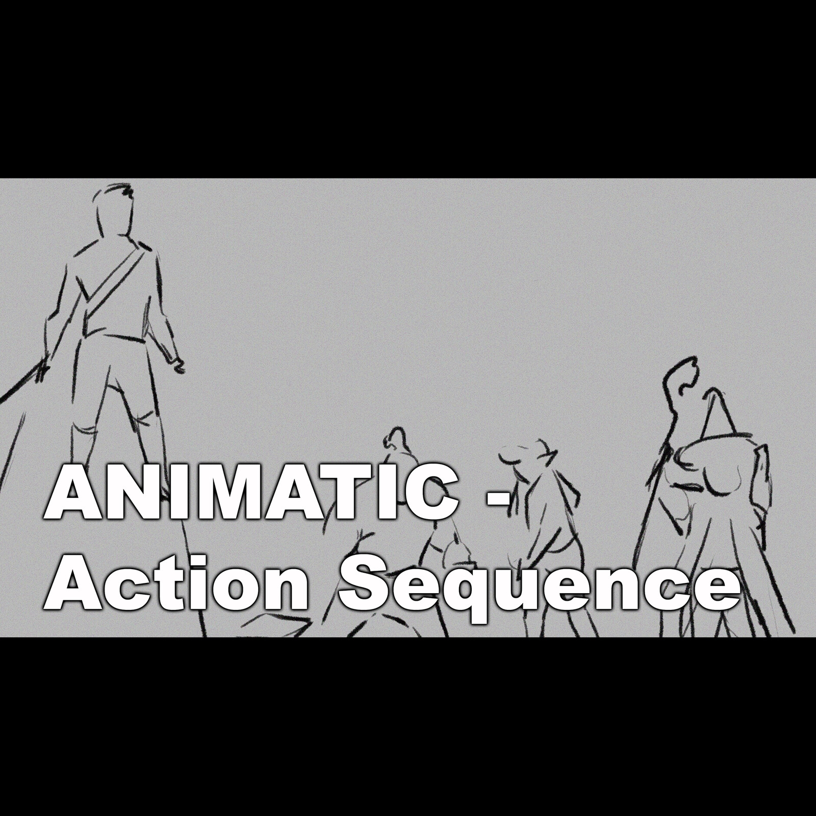 Animatic - Action sequence