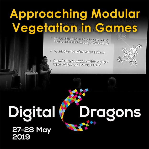 Digital Dragons 2019 Talk Video - Approaching Modular Vegetation in Games