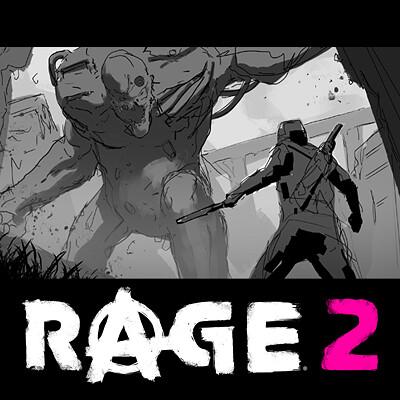 Thomas wievegg rage2 bw sketches thumbnail3