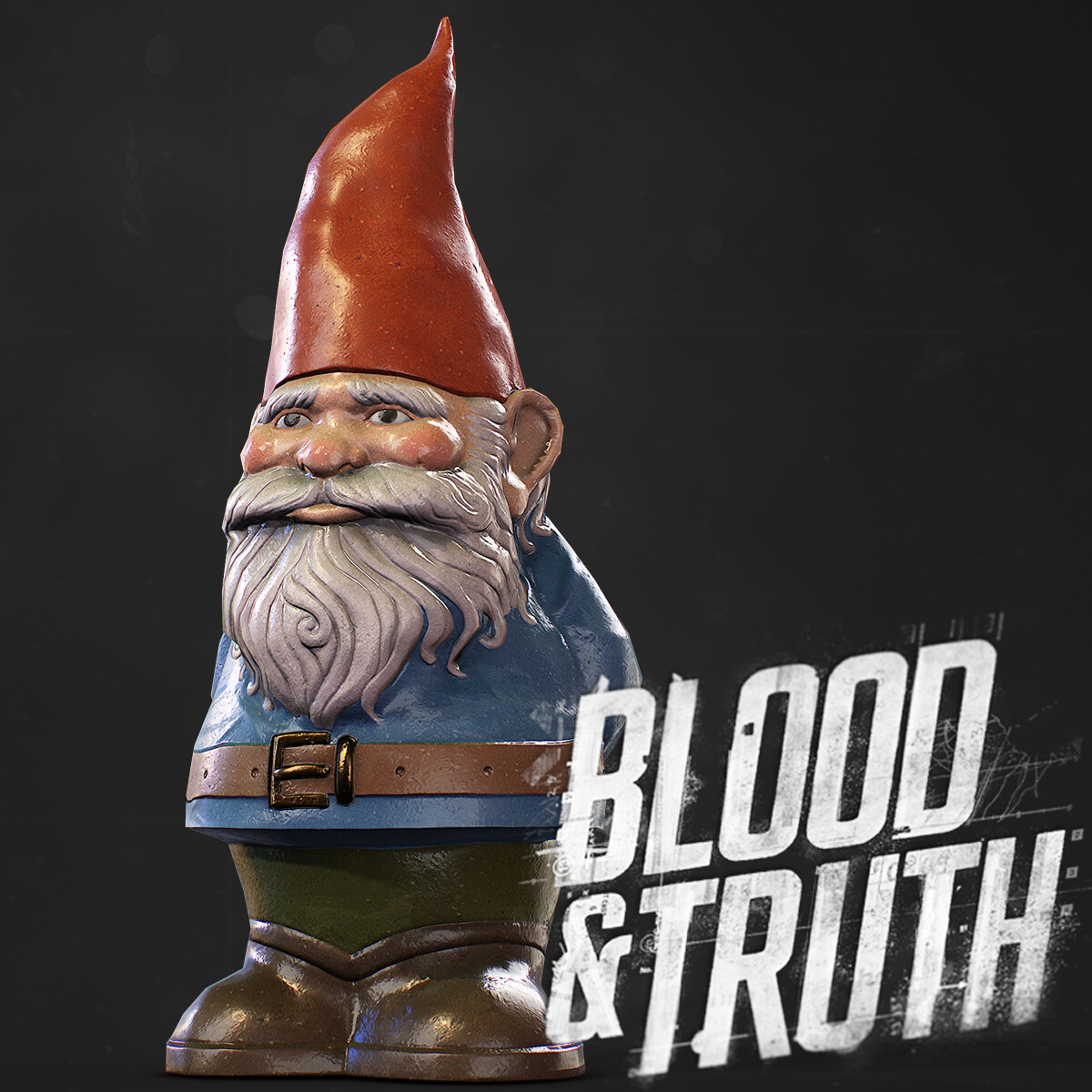 Blood & Truth -  Garden Gnome