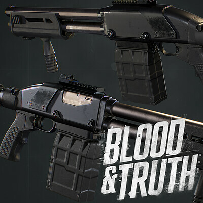 Blood and Truth : Shotgun