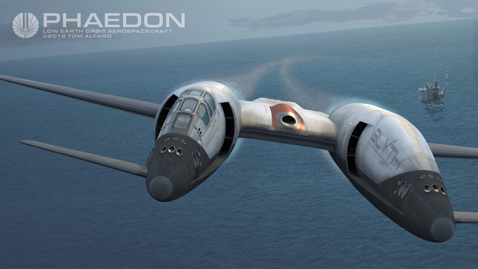 Phaedon on Mission - VTOL to Orbit