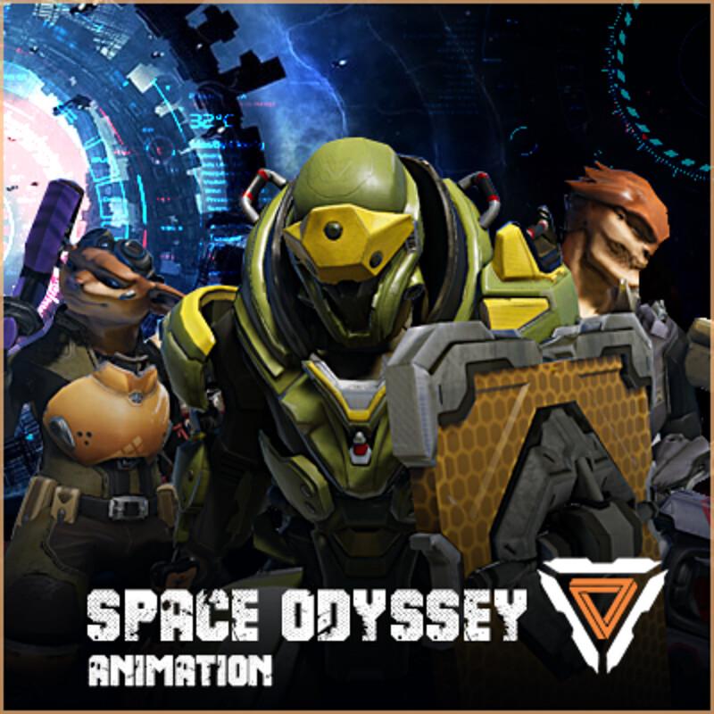 Space Odyssey animation system pipline