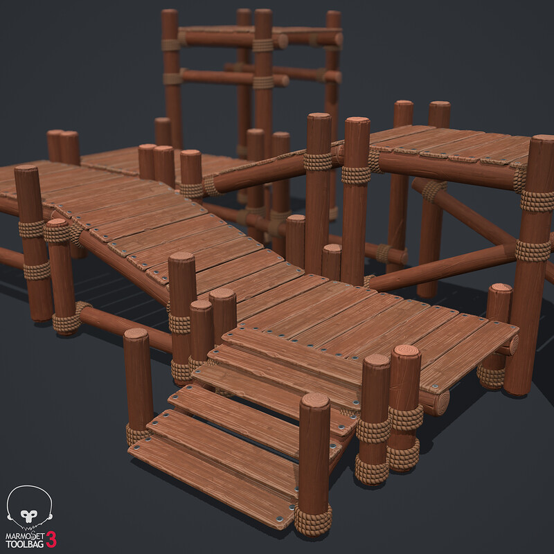 Modular Wooden Platforms