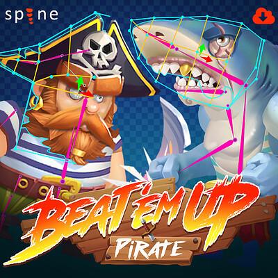 Retrostyle games icons pirate 808x808 artstation