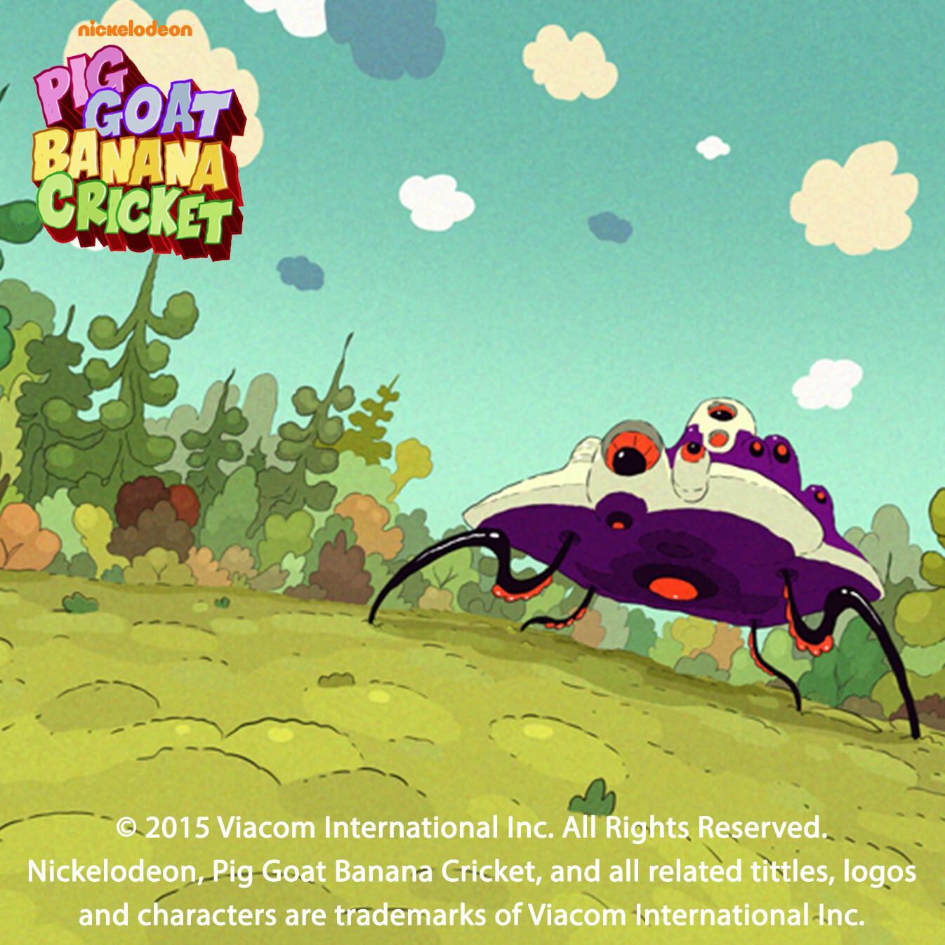 Artstation Pig Goat Banana Cricket Episode 27 Bg
