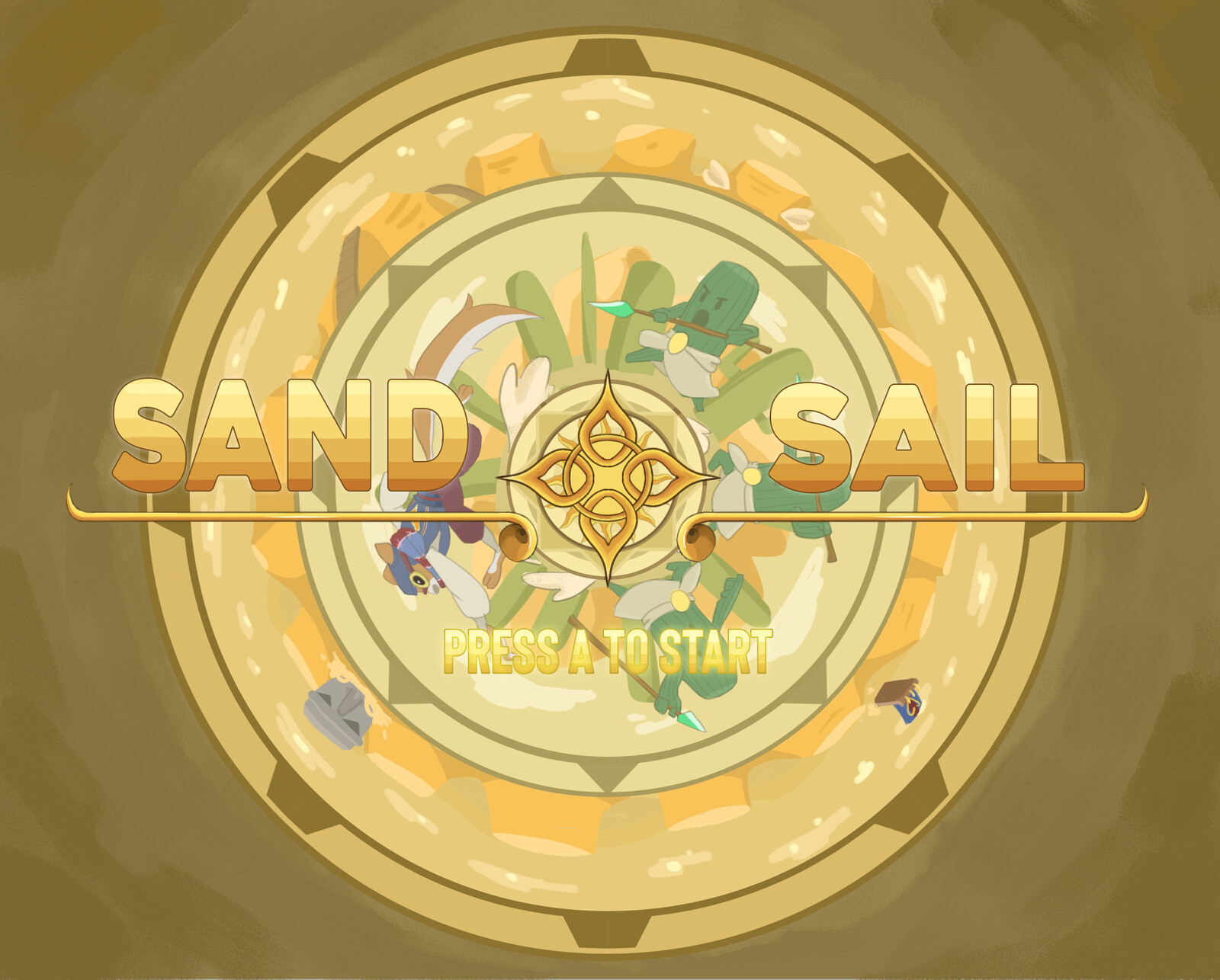 Sand Sail UI and Concept Art