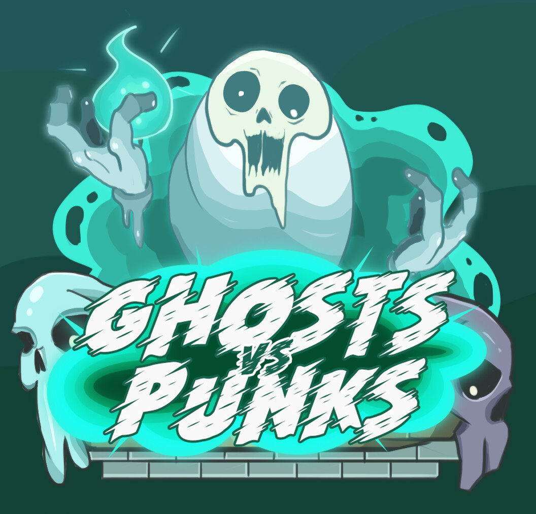Ghosts VS Punks UI and Concept Art