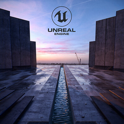 Unreal 4 Ray-Tracing study renders