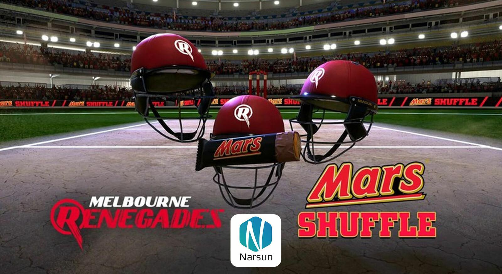Melbourne Renegades Shuffle Game environment