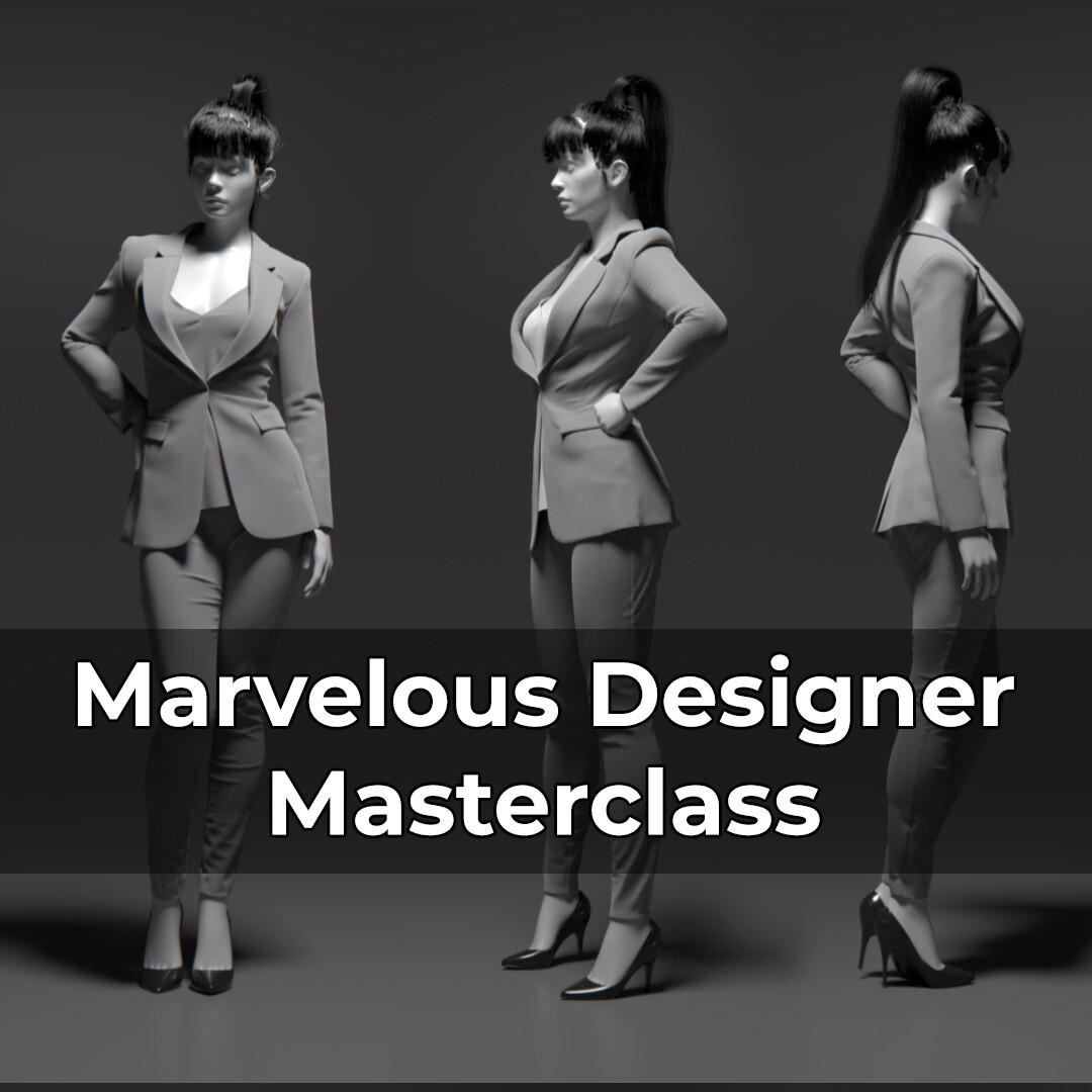 Marvelous Designer Masterclass