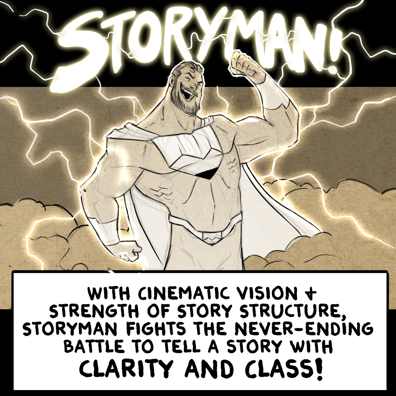 Comics: The Adventures of STORYMAN