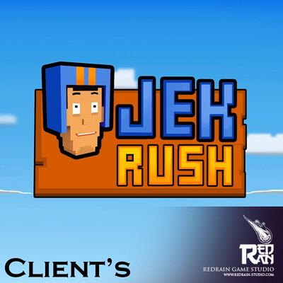Redrain game studio ojek rush title