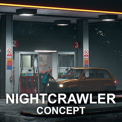 The Electric Nightcrawler - Gas Station