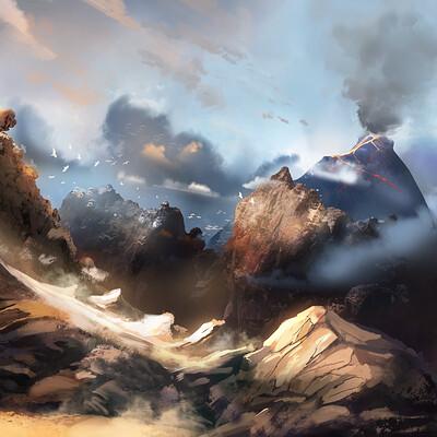 Maciej ptasinski volcano desert