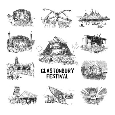 Anthony greentree glastonbury stages
