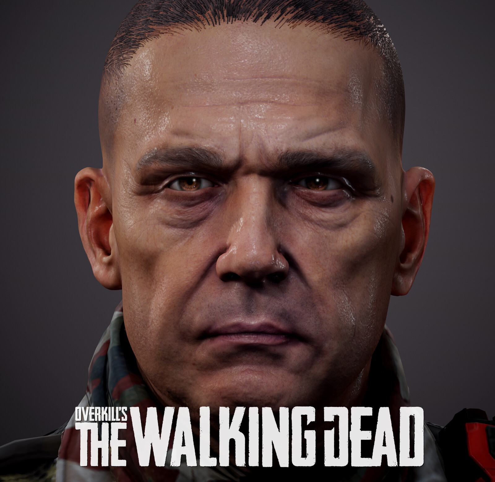 Overkill's The Walking Dead Soldier Head Variation (Season 1)