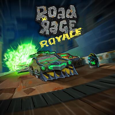 Road Rage Royale - Key Art