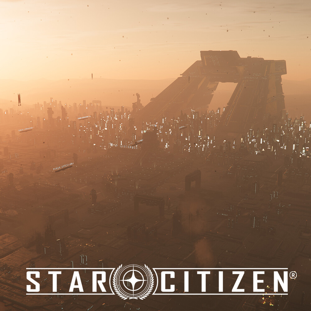 Star Citizen: Lorville City