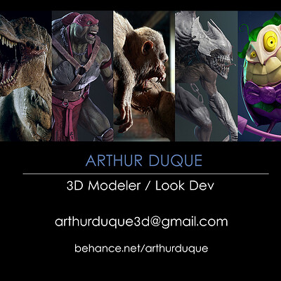 Arthur duque showreel02