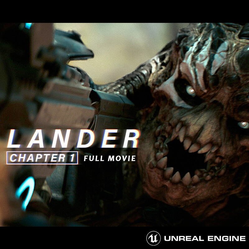CG SHORT FILM - LANDER