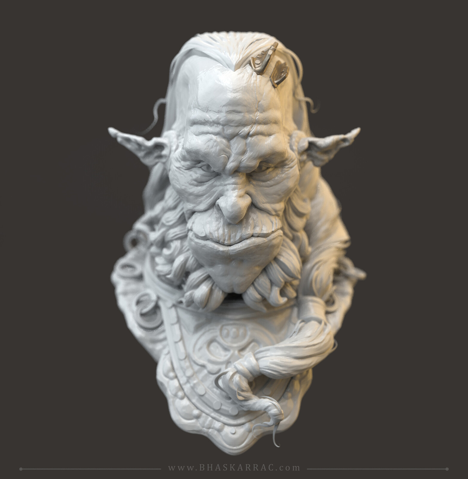 Head of a Chief Orc