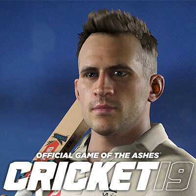 Cricket 19 - Photogrammetry head scans.