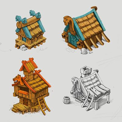 Nemanja abazovic besni fok building behance 01